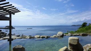 最も海と近い宿で、名湯&絶景を堪能するおこもりステイ