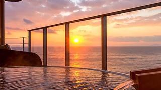 広大な海の絶景に日常を忘れる「海一望絶景の宿 いなとり荘」