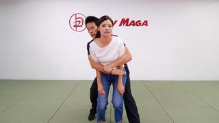 急に後ろから抱きつかれた!身動きができないときの護身術とは?