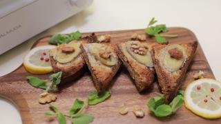 ティータイムに食べたい♡アーモンド香る焼きバナナトーストレシピ