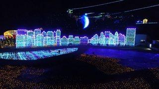日本初!体験型イルミネーション「伊豆高原グランイルミ」の幻想空間