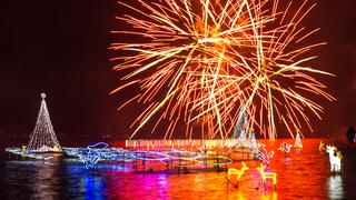 群馬で冬の花火!「榛名湖イルミネーションフェスタ2018」