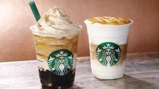 スタバのコーヒー愛!新作2種「フラペチーノ&マキアート」が登場