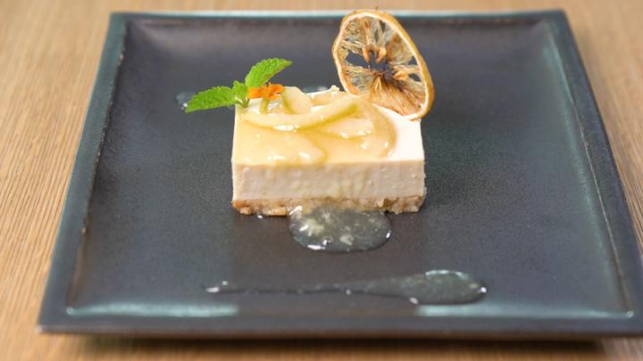 「ブラウンライス」豆腐のレモンケーキ