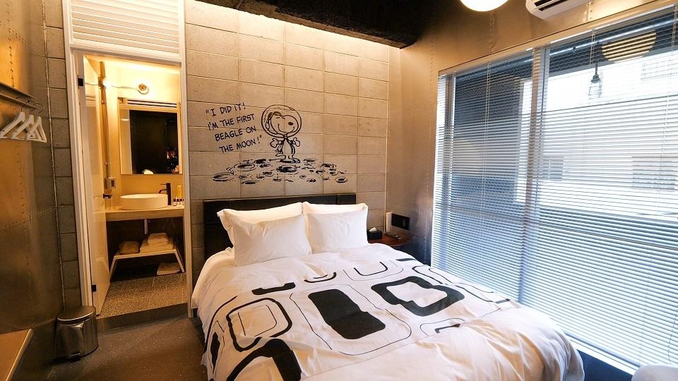 「PEANUTS HOTEL」の4Fのお部屋