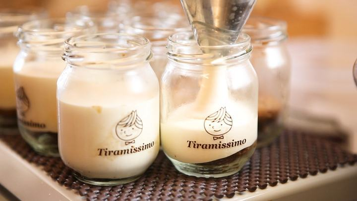 「ティラミッシモ」のティラミス