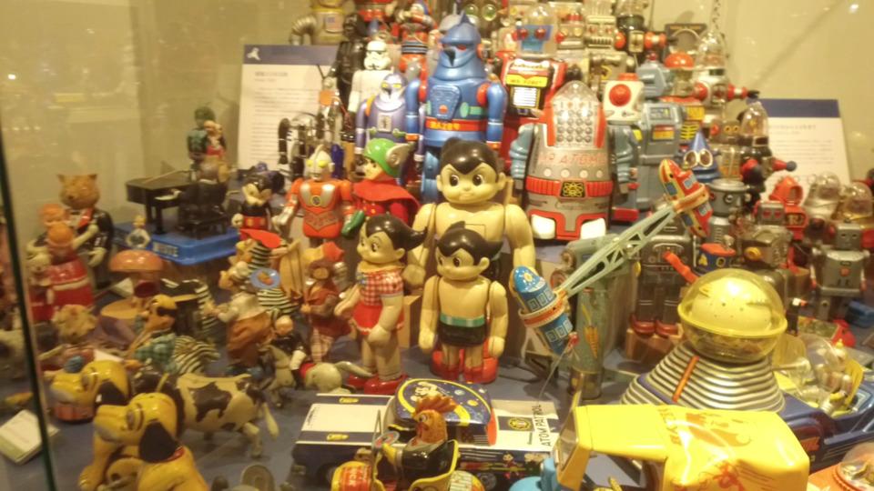 有馬玩具博物館のおもちゃ