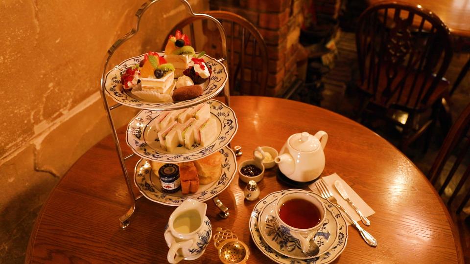 西洋茶館のアフタヌーンティー