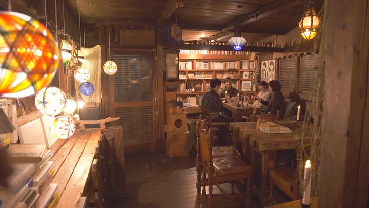 「ブックカフェ 6次元」の画像検索結果