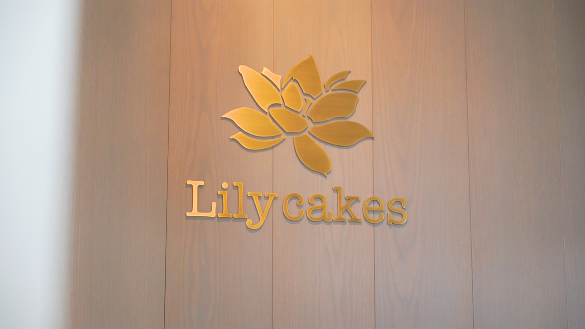 Lily cakes