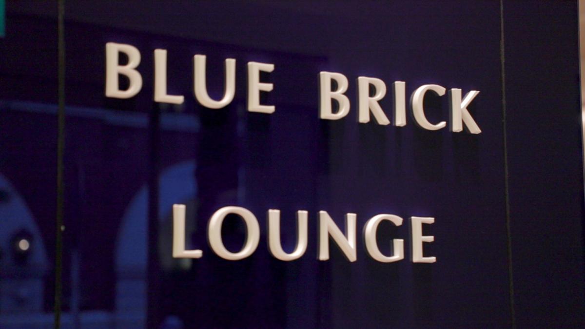 ヨックモック 青山本店 BLUE BRICK LOUNGE