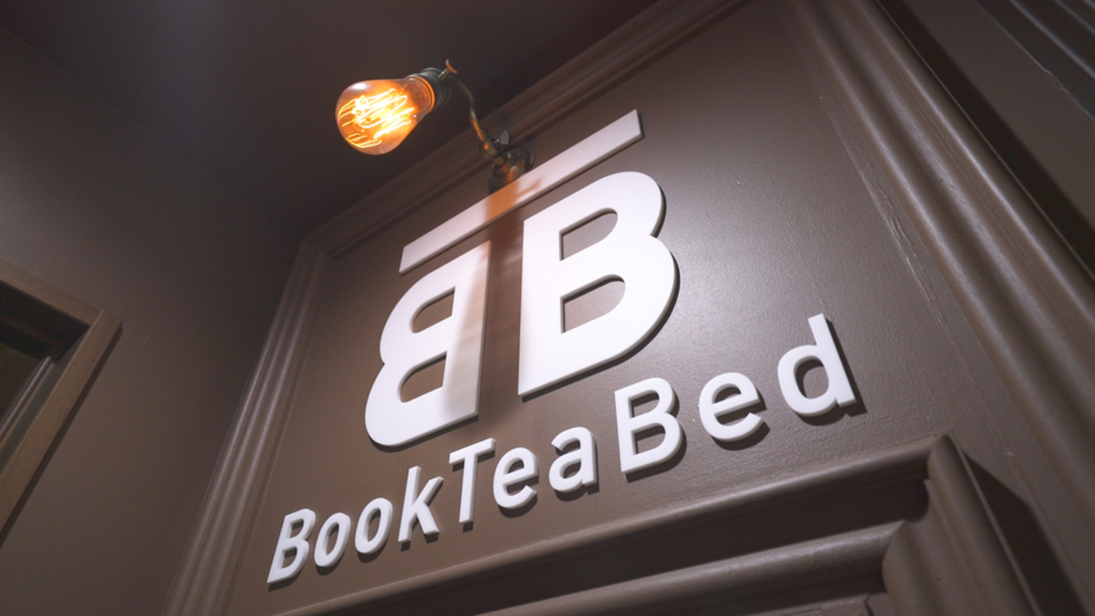 Book Tea Bed GINZA