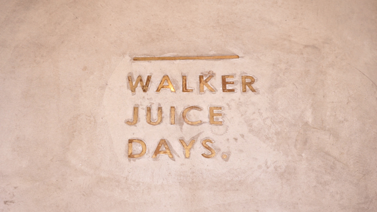 WALKER JUICE DAYS.