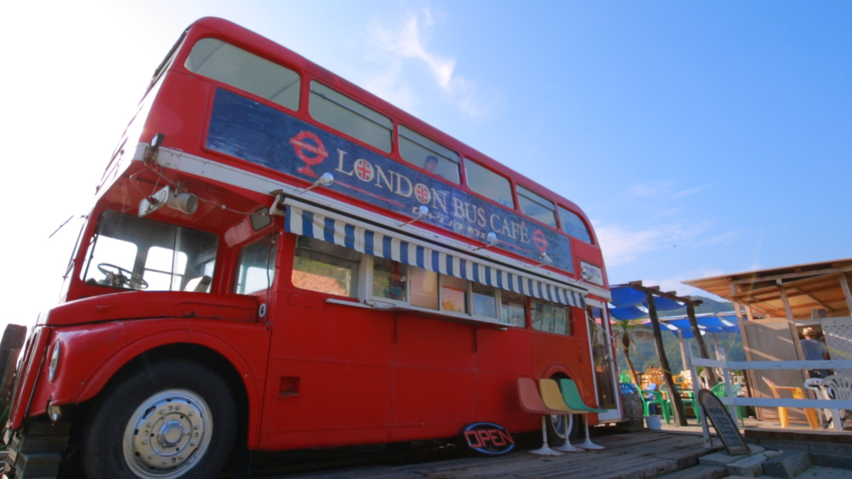 糸島 LONDON BUS CAFE
