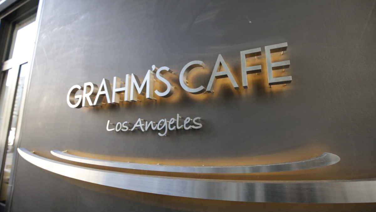 GRAHM'S CAFE~Los Angeles~