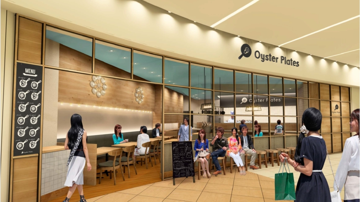 Oyster Plates ラゾーナ川崎プラザ店