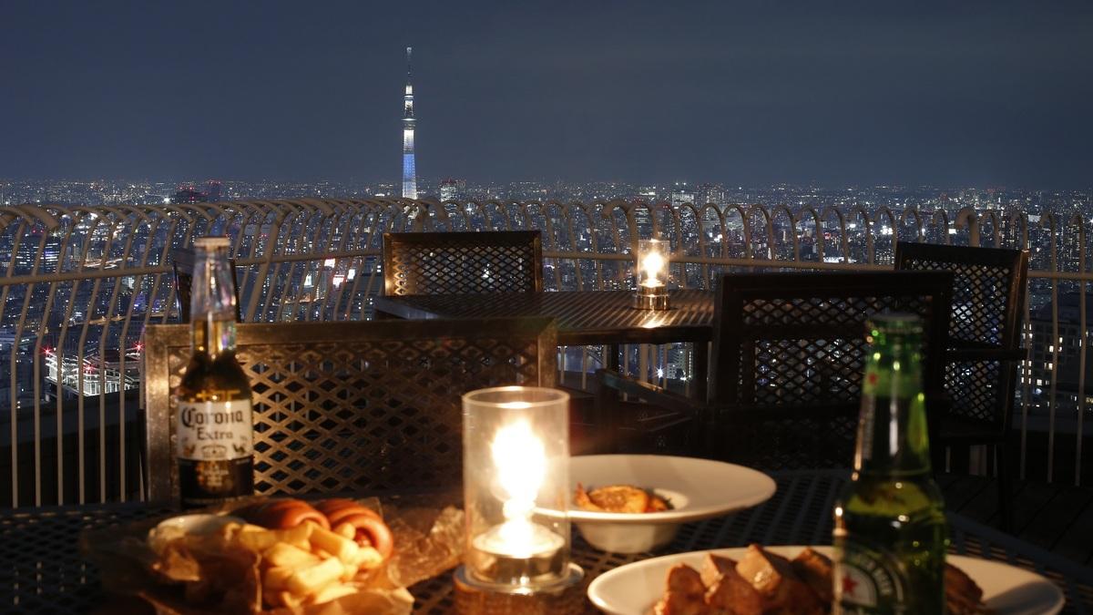 Restaurant LUKE with SKY LOUNGE