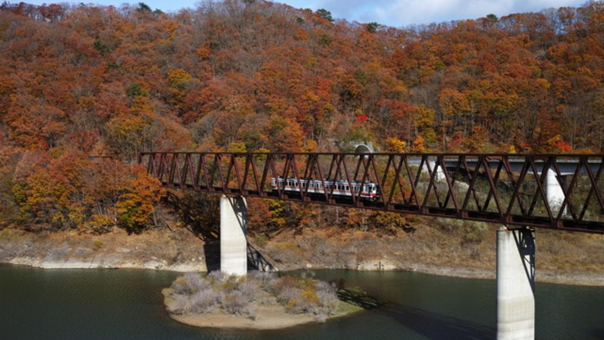 野岩線鉄橋
