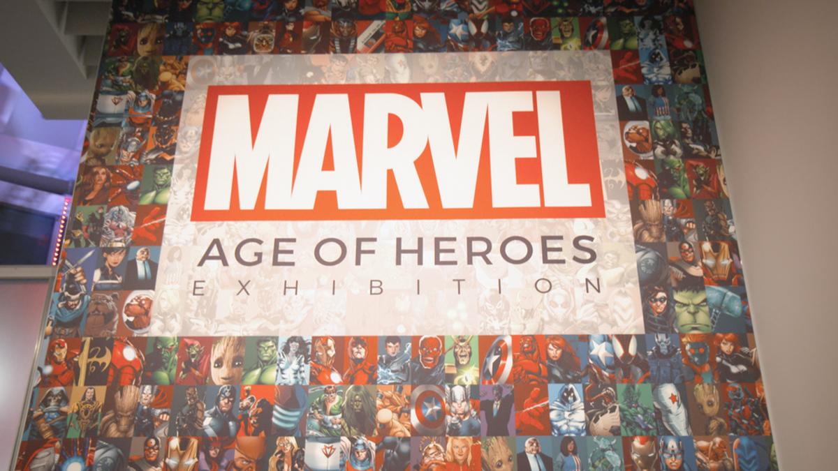 マーベル展 時代が創造したヒーローの世界