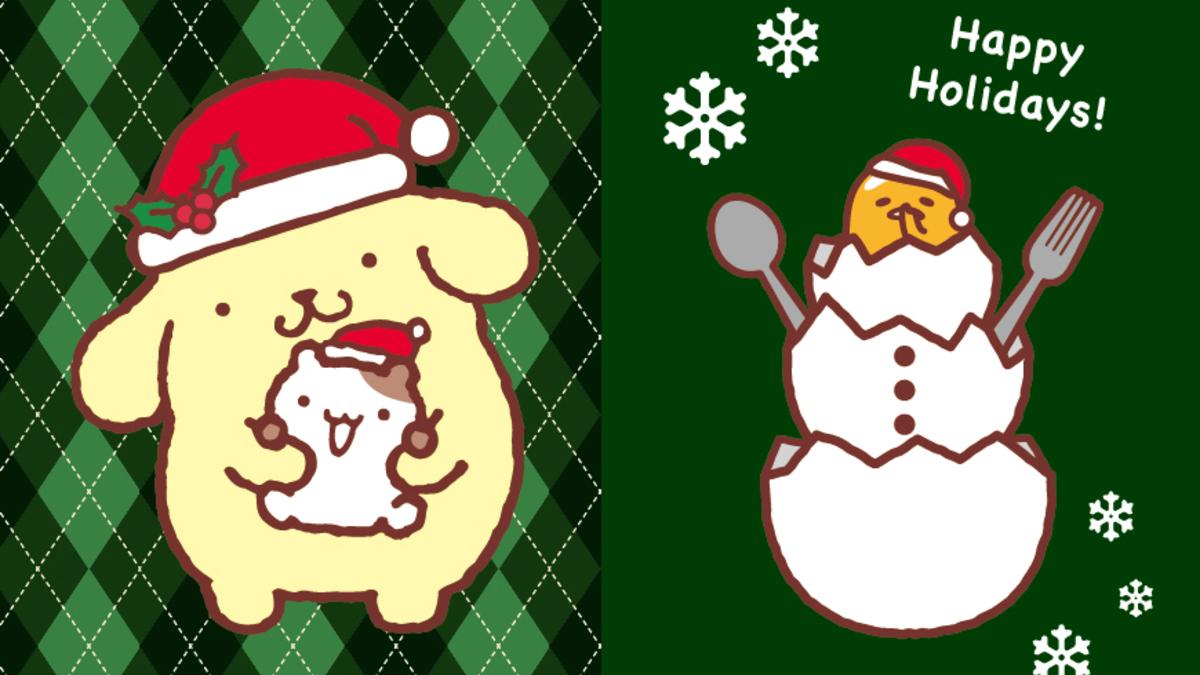 「ポムポムプリンカフェ」クリスマス限定メニュー