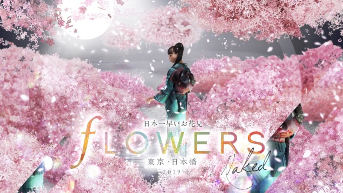 FLOWERS BY NAKED 2019