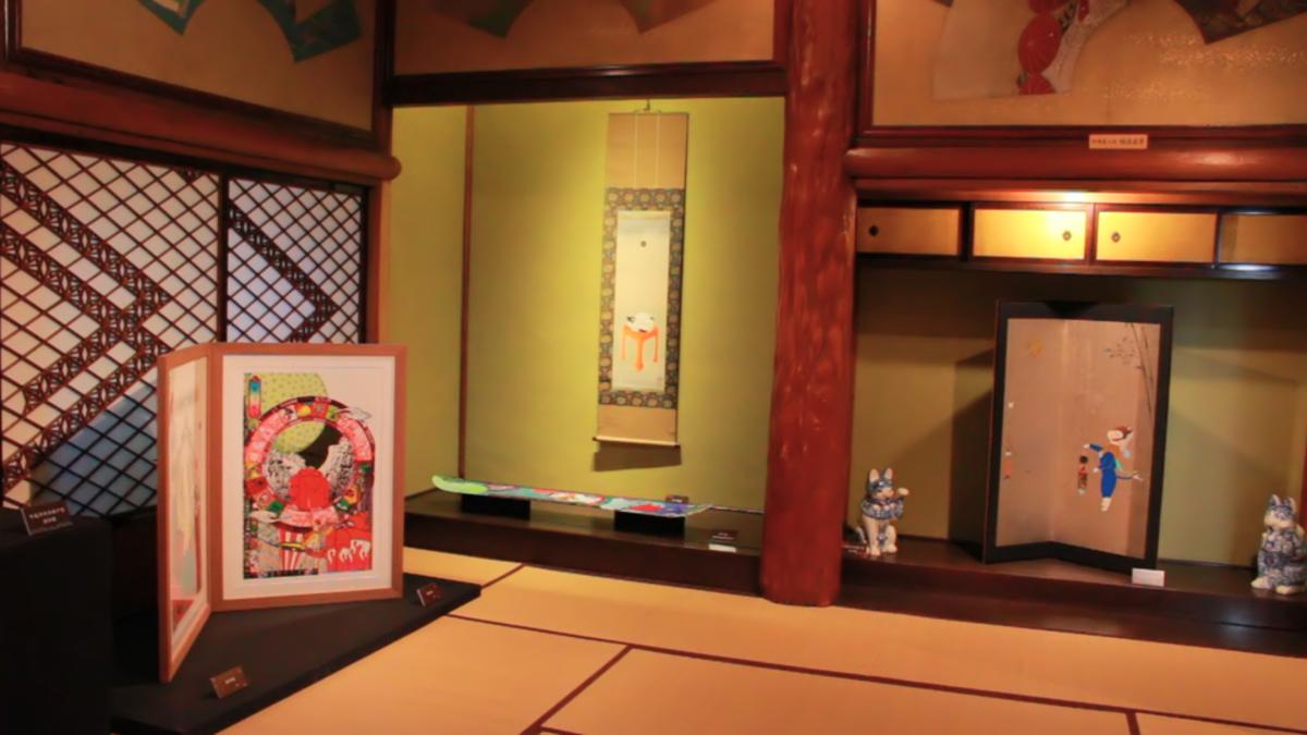 「福ねこ at 百段階段」展〜和室で楽しむねこアート