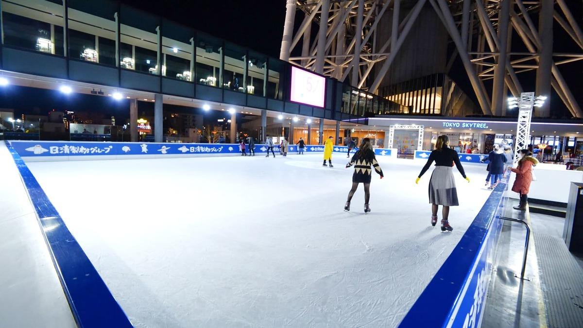 TOKYO SKYTREE TOWN(R) ICE SKATING PARK 2019