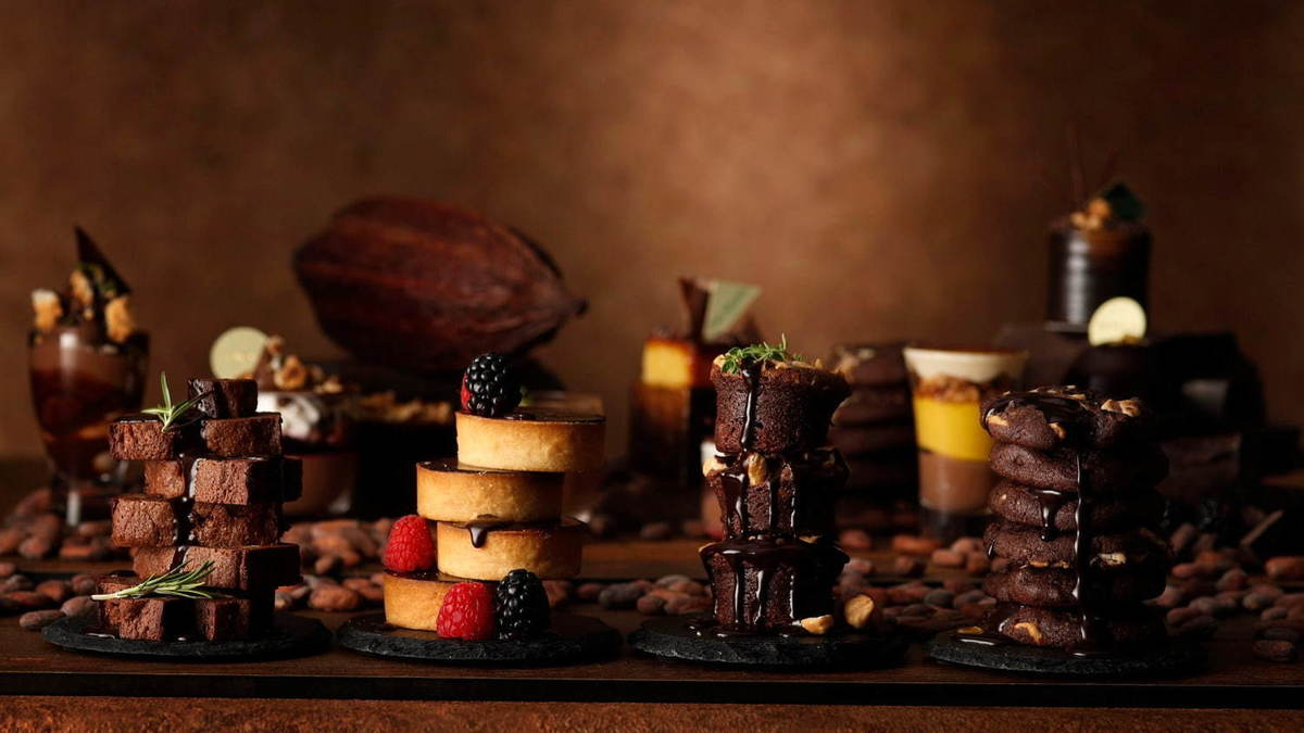 チョコレート デザートブッフェ