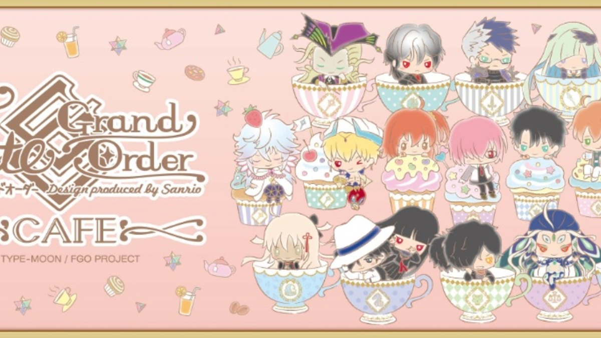 Fate/Grand Order Design produced by Sanrio