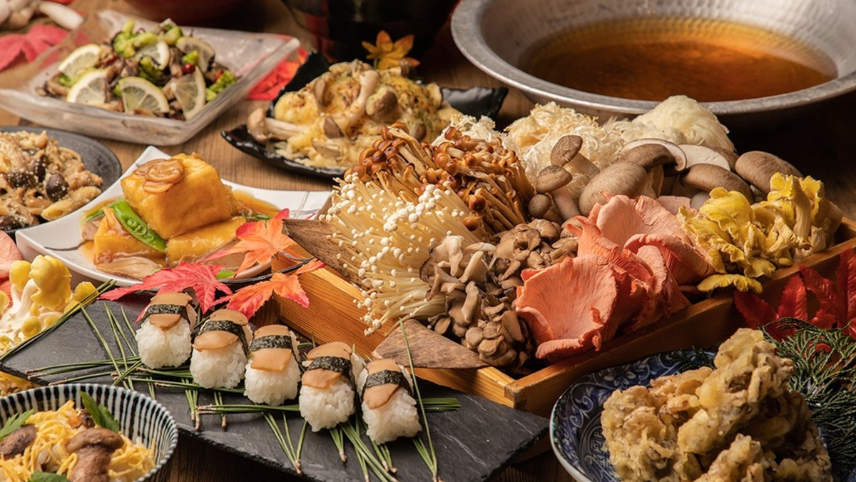 『秋の味覚』松茸&味キノコ食べ放題フェア