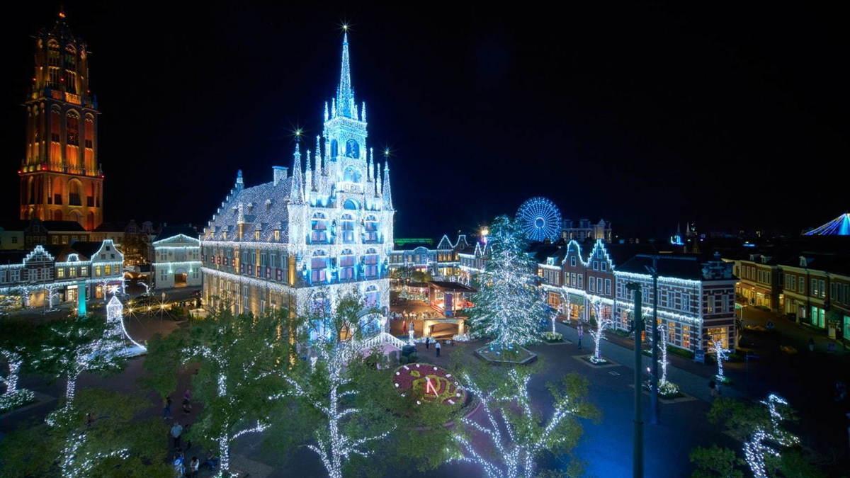 光の街のクリスマス