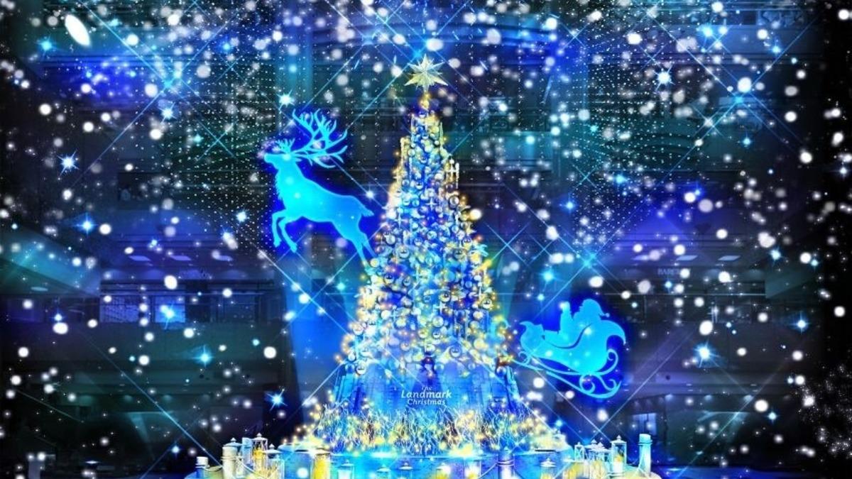 The Landmark Christmas 2019 ~雪降る白い森の奇跡~