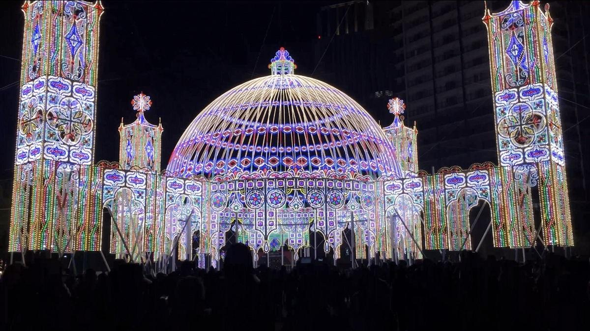 神戸ルミナリエ会場