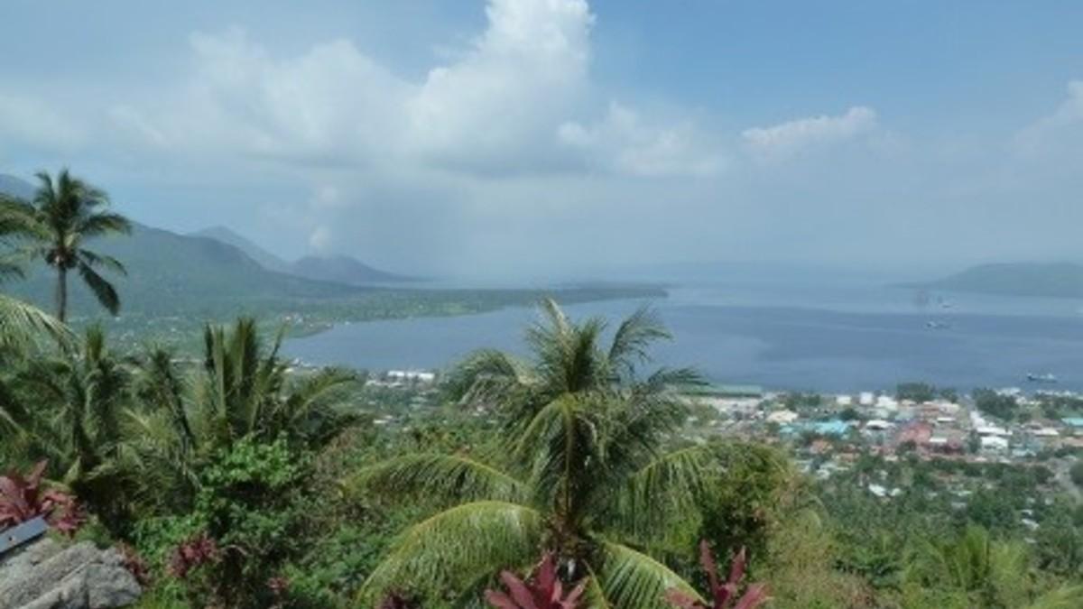 日本人の痕跡を訪ねる旅 パプアニューギニア、ラバウル島の旅 6日間
